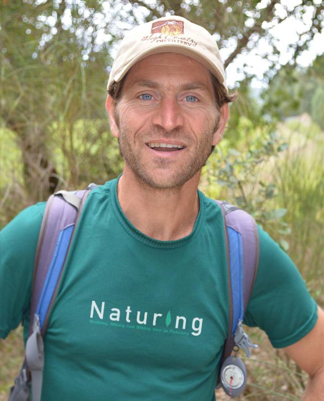 Rudy Cucini guida ambientale Naturing
